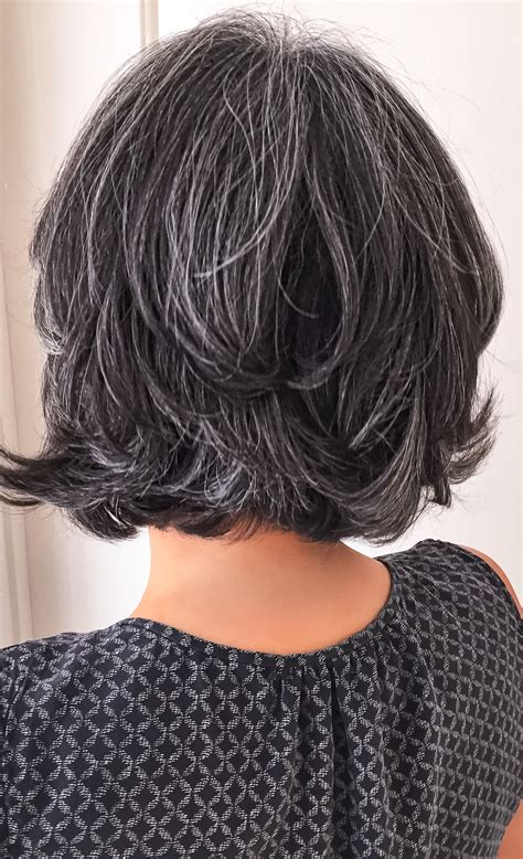Salt And Pepper Hair Style For Black Hair by Salt And Pepper Gray Hair Silver Hair White Hair