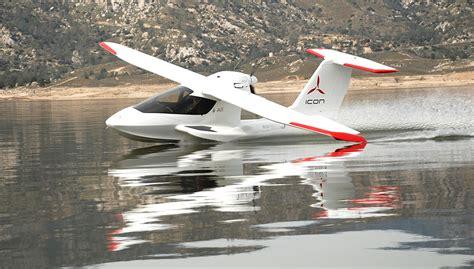 icon boat plane seaplane of the future icon a5 aviation blog