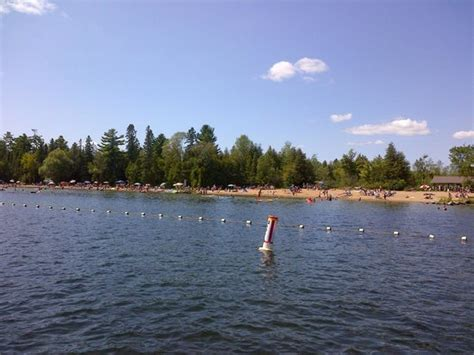 balsam lake boat launch beach picture of balsam lake provincial park kirkfield