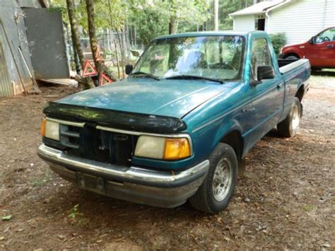 find used 1995 ford ranger xlt standard cab 2 door