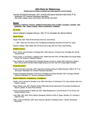 fillable asa format sample paper edit  print