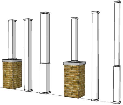 Snaps To Msn For Their Lifestyle Column With Style by Pvc Porch Post Wraps Exterior Column Pole Covers I Elite