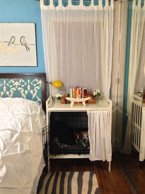 dog crate in bedroom best 25 dog bedroom ideas on pinterest doggy room ideas