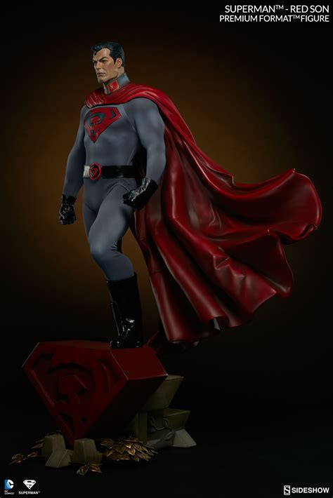 format video red superman red son figure sideshow collectibles