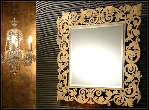 fancy bathroom mirrors the gallery for gt fancy frame shapes