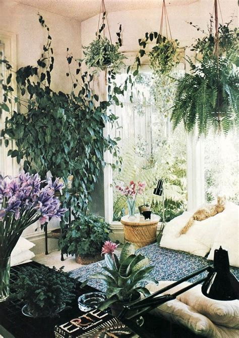 room with plants creating a seamless flow between home and garden