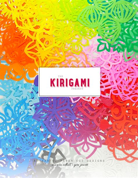 kirigami spinning card template the kirigami project free ebook omiyage blogs