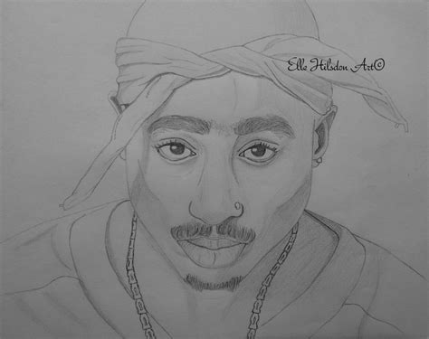 2pac Sketches by Tupac Shakur Drawing Drawings And