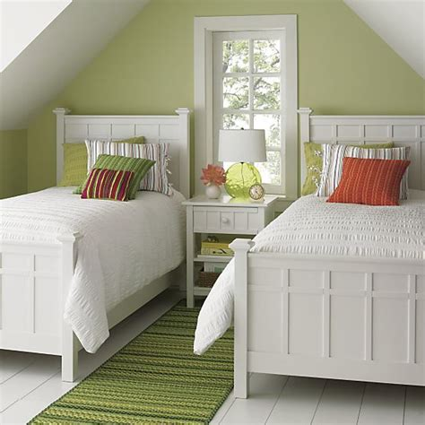 Crate And Barrel White Bedroom Furniture by Brighton White Bed In Beds Crate And Barrel I Think