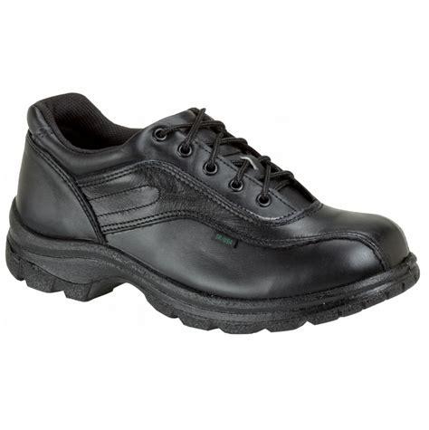 thorogood oxford work shoes thorogood track oxford plain toe work shoes 8346908