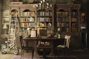 Vintage inspired home libraries to envy
