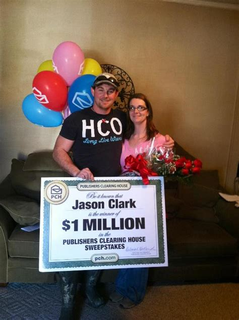 Does Pch Email Winners - meet pch s newest superprize winner jason clark pch blog
