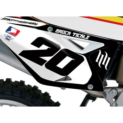 Rch Suzuki Graphics Stellar Mx Official 2013 Rch Suzuki Team Supercross