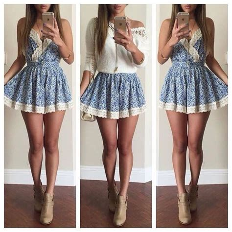 weekday weekday shirt with dot jacquard simple accessories crochet knit skater skater skirt denim lace up