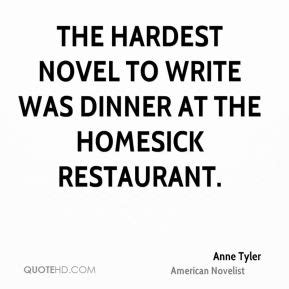 the bistro a novel the hardest novel to write was dinner at the homes by
