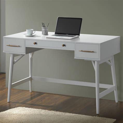Coaster 800745 Mid Century Modern Writing Desk With 3 Coaster Desk