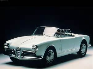 Vintage Alfa Romeo Giulietta Alfa Romeo Giulietta Spider Classic Cars Convertible