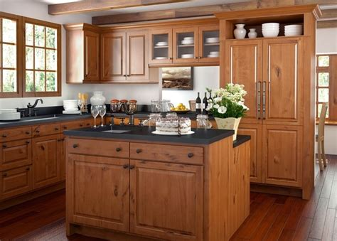 canyon kitchen cabinets canyon creek cornerstone windsor rustic alder cinnamon