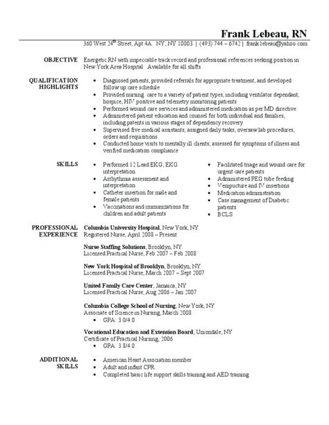 Registered Duties Resume by Registered Description Letsridenow