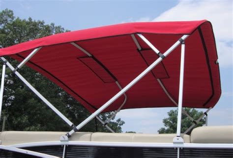 how to install bimini top on pontoon square tube bimini top carver covers