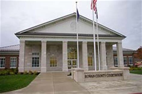 Rowan County Clerk Of Court Records Rowan County Kentucky