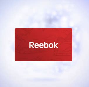 Reebok Gift Card - giveaway pack running at disney