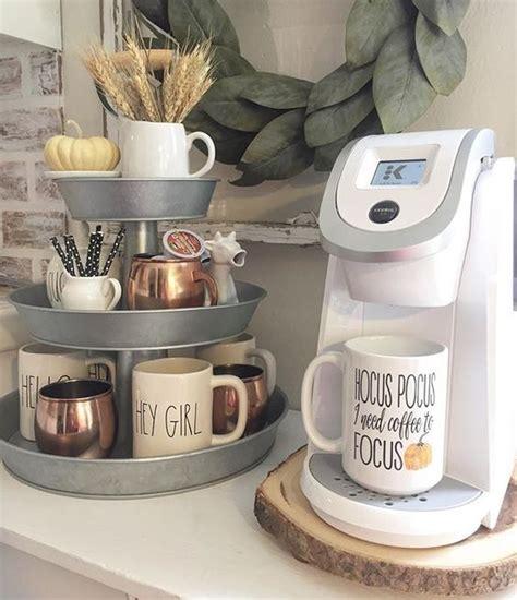 Arma tu rincón del café con estas ideas