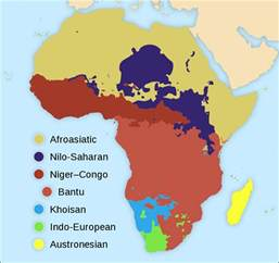 Language Map Of Africa by Languages Of Africa Wikipedia