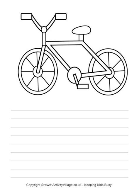 How To Make A Paper Bike Easy - bicycle story paper