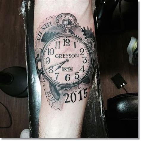 tattoo pictures of clocks clock tattoo designs mytattooland body modification