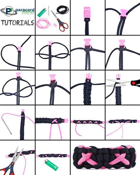 printable instructions paracord bracelet breastcancerawareness paracord bracelet tutorial my