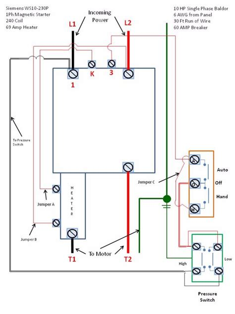forward motor starter wiring diagram delta