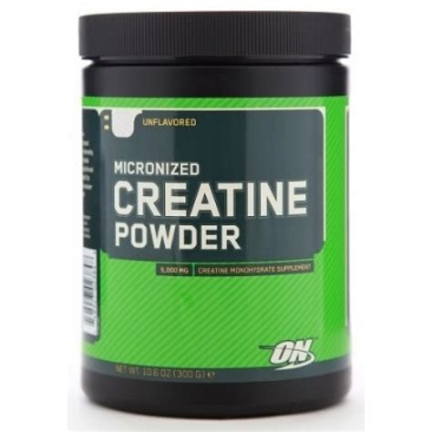 creatine on optimum nutrition micronized creatine powder