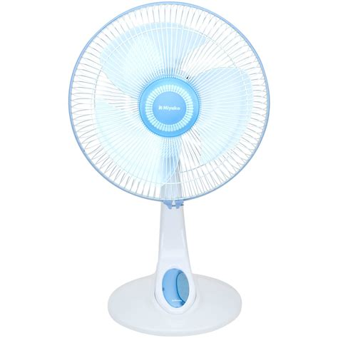 Miyako Desk Fan Kad 06 Kad 6 miyako kipas angin 2 in 1 desk fan kad 1227 biru elevenia