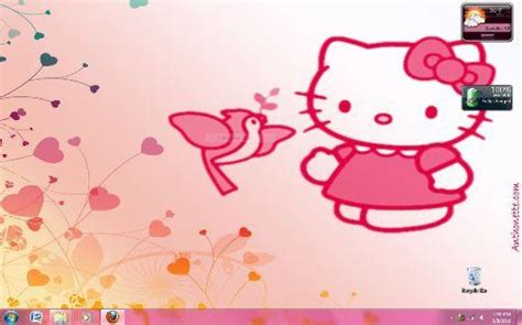 free hello kitty themes to download free windows 7 themes download hello kitty