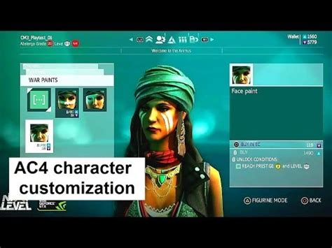 ac4 multiplayer character customization assassin s creed 4 black flag in 1080p youtube