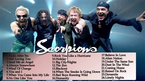 best scorpion songs scorpions greatest hits best songs of scorpions