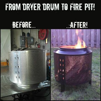 diy pit dryer drum my name is not king diy how to make a backyard