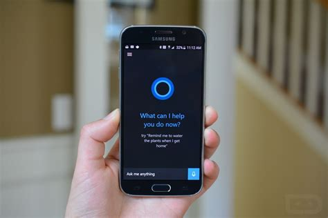 cortana on android microsoft s assistant cortana makes its way into galaxy devices samsung rumors