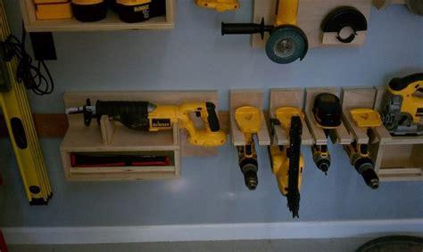 Power Tool Storage Garage Journal Make This Cleat Ideas