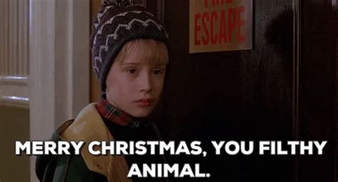 merry christmas  filthy animal gifs find share  giphy