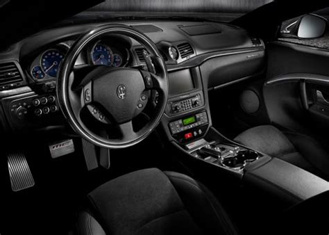 maserati sports car interior car accessories of maserati gran turismo s mc sport line
