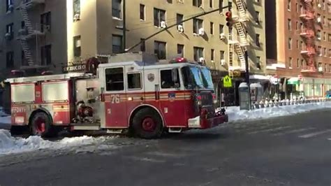 fdny engine 76 taking up from 4th alarm on 9th ave
