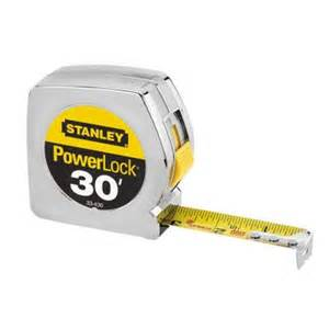home depot measure stanley 30 ft measure 33 430l the home depot