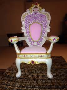 barbie my size throne musical jewels princess chair very