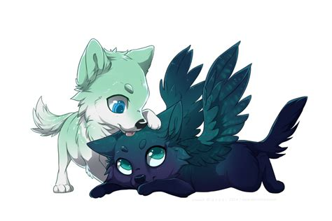 anime chibi wolf chibi wolf drawings pictures to pin on