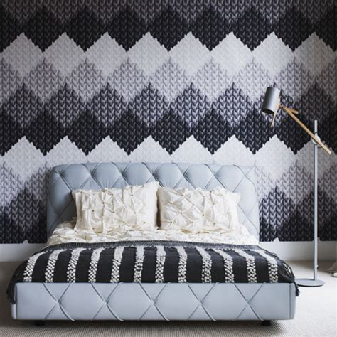 black and white wallpaper bedroom design bedroom wallpaper ideas ideal home