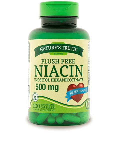 How To Detox Your With Niacin by Flush Free Niacin 500 Mg Nature S