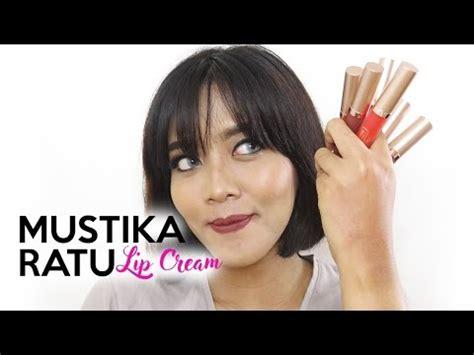 Lipgloss Mustika Ratu mustika ratu ultra moisturizing matte lip swatch review