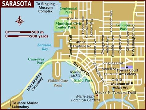 map of sarasota florida map of sarasota